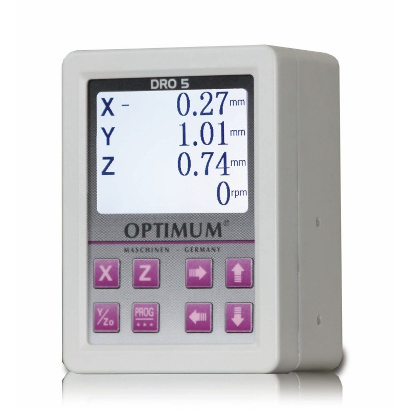 Système magnétique de lecture numérique 3 axes DRO 5 - 3383975