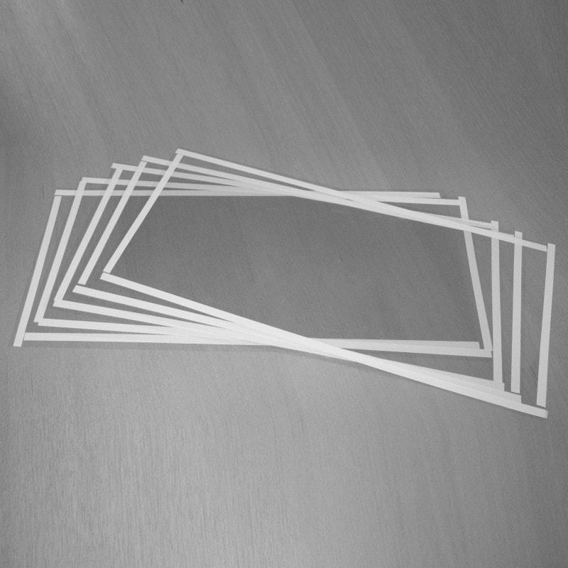 Lot de 5 films protecteur pour vitre de sableuse SSK2 - 6204111