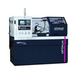 Tour à métaux à commande numérique Optimum L 34 HS