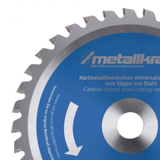 Lames HSS-E Ø 315 mm pour acier inoxydable Metallkraft