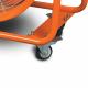 Ventilateur/extracteur  mobile MV50 - Roues en PVC
