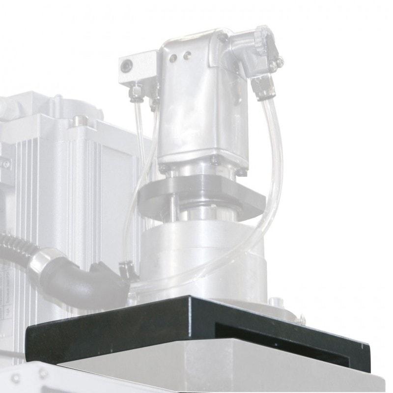 Plaque d'adaptation du système d'attachement pneumatique pour fraiseuse BF 30 Vario