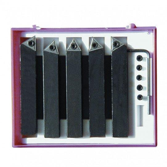 Jeu de 5 outils 6 x 6 à plaquettes