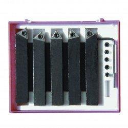 Jeu de 5 outils 10 x 10 à plaquettes