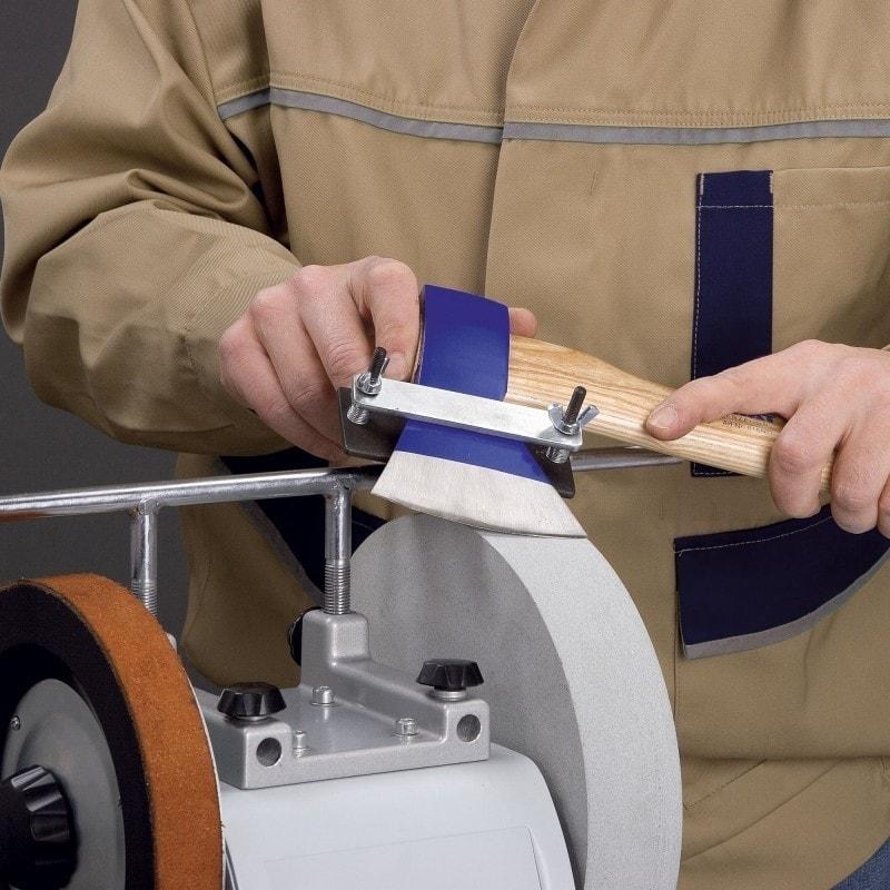 Dispositif pour haches et outils de décolletage - Affûteuse NTS 251