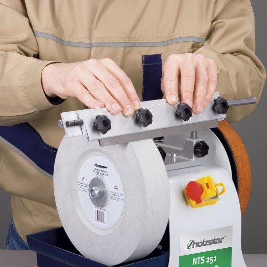 Dispositif d'affûtage des fers de toupie - Affûteuse NTS 251