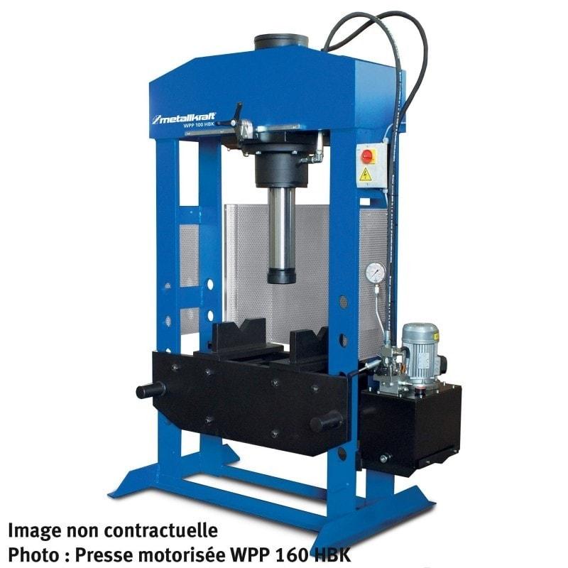 Presse motorisée  Metallkraft WPP 200 HBK - 4013200