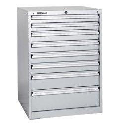 Caisson 8 tiroirs  Uniworks - L x H : 723 x 1000 - EL726510