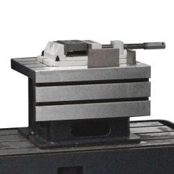 Perceuse radiale Optimum RD 5, table de bridage.