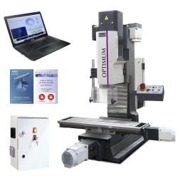 Fraiseuse  Optimum MH 25 CNC - Kit complet