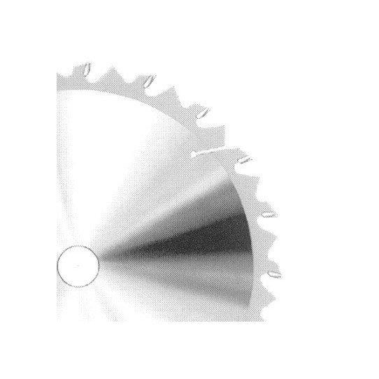 Lames circulaires pour bois - HSS à plaquettes carbure brasées