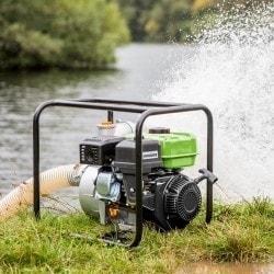 Pompe à eau claire ou peu chargée Cleancraft FWP 80 - en action