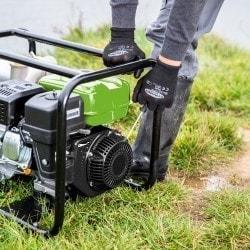 Pompe à eau claire ou peu chargée  Cleancraft FWP 80 - Démarrage