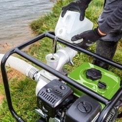 Pompe à eau claire ou peu chargée  Cleancraft FWP 80 - Réservoir