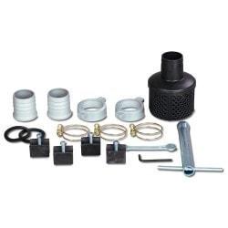 Pompe à eau claire ou peu chargée  Cleancraft FWP 80 - Accessoires de série