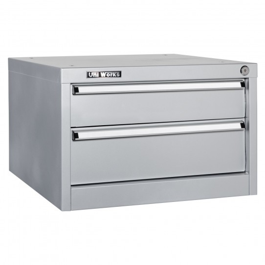 Coffre 2 tiroirs suspendu établi Uniworks