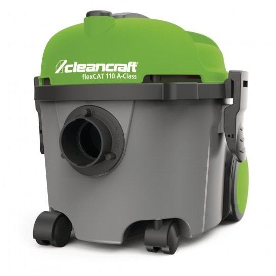 Aspirateur d'atelier Cleancraft flexCAT 110, vue de 3/4