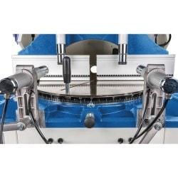 Scie circulaire pour profilé Metallkraft ULMS 420, détail vue de dessus