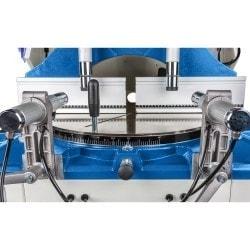 Scie circulaire pour profilé Metallkraft ULMS 500, détail vue de face