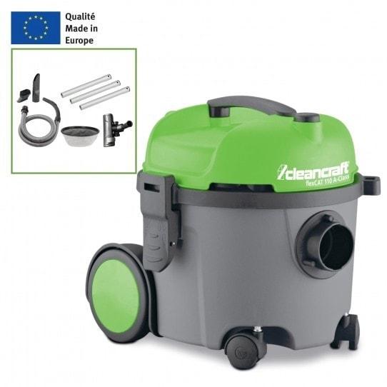 Aspirateur d'atelier Cleancraft flexCAT 110 avec accessoires