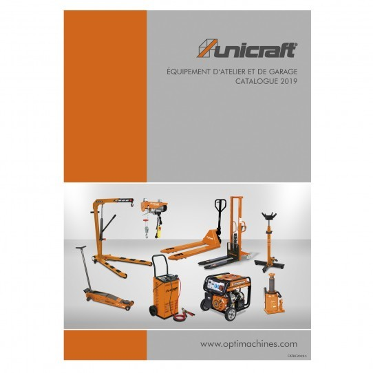 Catalogue équipement d'atelier et de garage Unicraft