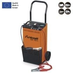 Chargeur/démarreur automatique professionnel pour batteries wet, gel et AGM  Unicraft ABC 350 S