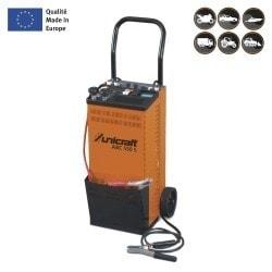 Chargeur/démarreur automatique professionnel pour batteries wet, gel et AGM  Unicraft ABC 550 S