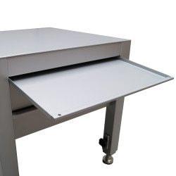 Socle universel avec tiroir ouvert réglable Uniworks