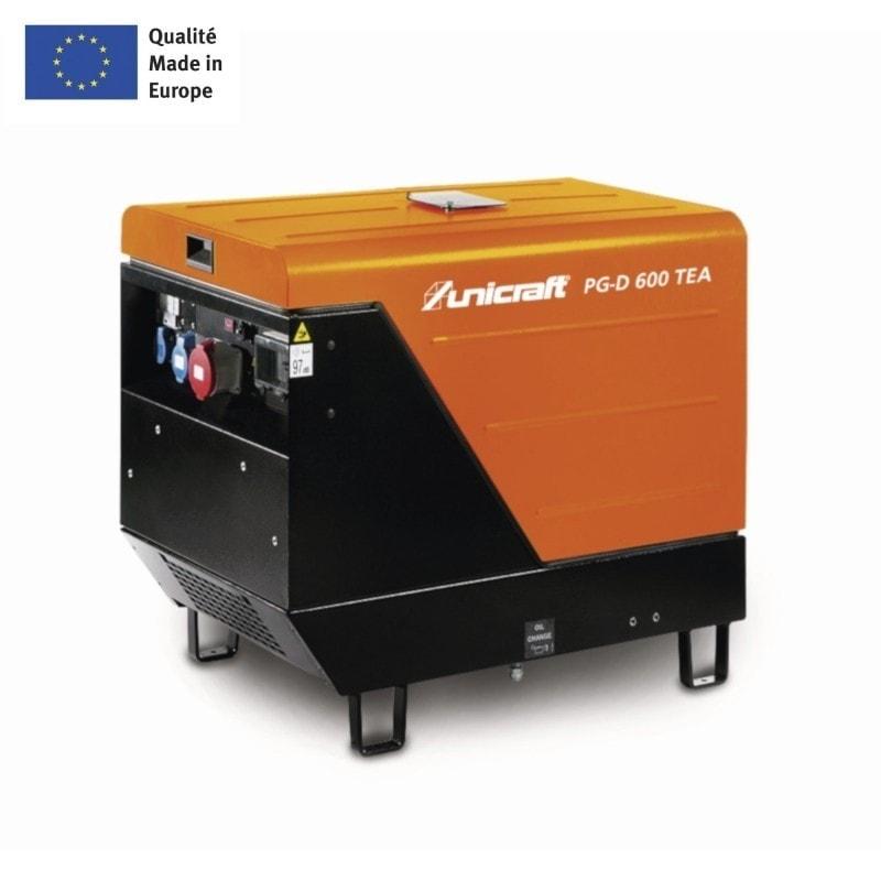 Groupe électrogène Unicraft PG-D 600 TEA