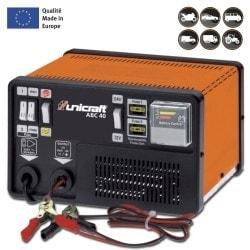 Chargeur/Régénérateur automatique de batterie Unicraft  ABC 40 - 6850210