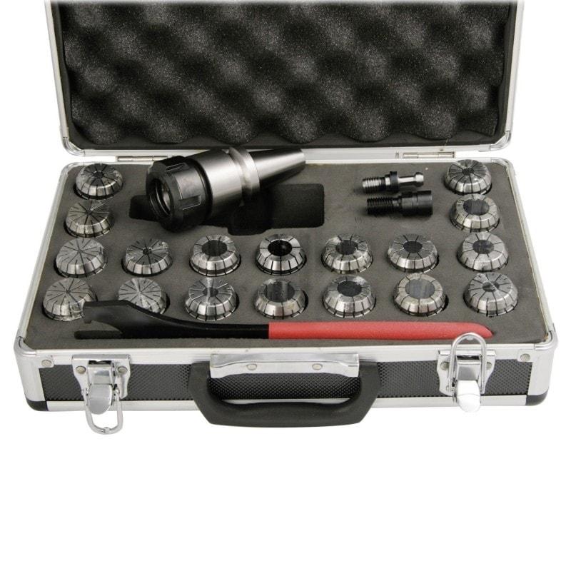 Coffret porte-pinces + pinces ISO30/ER32
