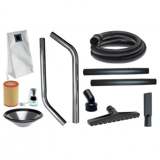 Aspirateur d'atelier  Cleancraft dryCAT 250 IRCA classe H Pro, accessoires de série