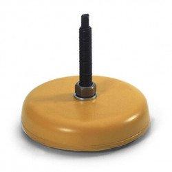 Pieds anti-vibratoires pour machines-outils