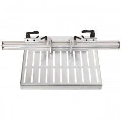 Table de bridage avec rail de butée de 720 mm Optimum