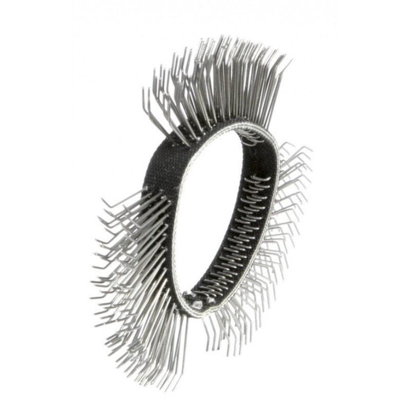Bande de brosse métallique dégrossissage 11 mm