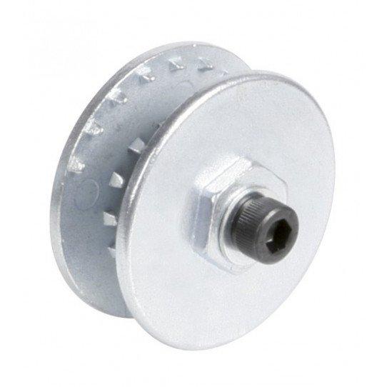 Roue spéciale pour disques cleaning-strip – simple (pour un disque)