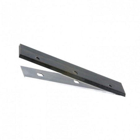 Jeu de fers de rechange (lot de 2)  Holzstar (410 x 19 x 1 mm) HSS