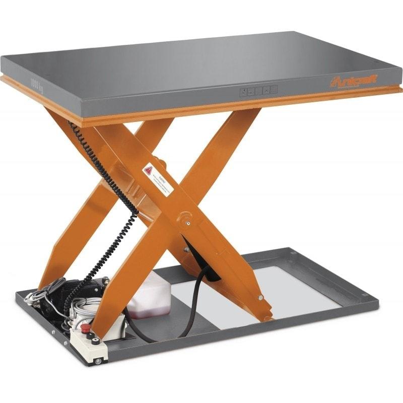Table élévatrice électro-hydraulique de capacité 2 tonnes