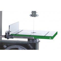 Holzstart HBS 400 - Déplacement simple et très rapide de la butée parallèle en aluminium par levier avec serrage rapide