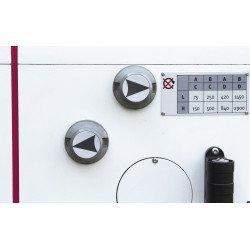 Boîte de vitesse mécanique. 8 vitesses de 75 à 2900 T/min. - 3034230