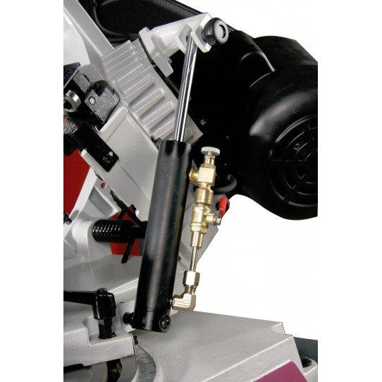 Scie à ruban Optimum S 131 GH-3300131-Descente hydraulique avec débit réglable