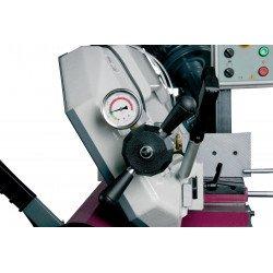 Scie à ruban Optimum S 285 DG - 3300285- Manomètre, commande simple et précise de la tension de la lame