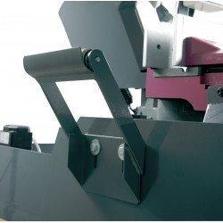 Scie à ruban Optimum S285 DG - 3300285 - Rouleau d'amenée, idéal pour pièces de grandes longueurs