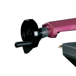 Scie à ruban Optimum S285 DG - 3300285 - Étau à serrage rapide
