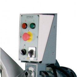 Scie à ruban Optimum S285 DG - 3300285 -Panneau de commande