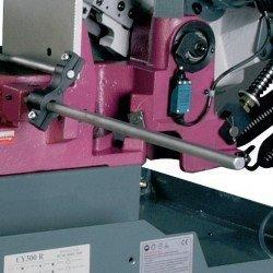 Scie à ruban Optimum S 350 G - 3290350 - Butée de coupe