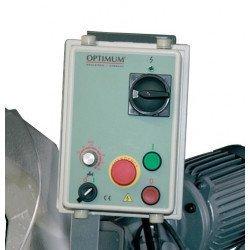 Scie à ruban Optimum S 350 G - 3290350 - Panneau de commande