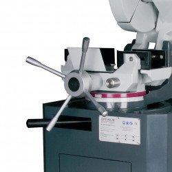 Tronçonneuse à fraise-scie manuelle Optimum CS 315 -3302300 - Etau à serrage concentrique