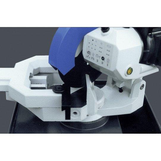 Scie circulaire manuelle Metallkraft MKS 316 R - 3621316 - Tête de scie pivotante