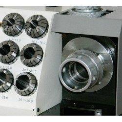 Affûteuse de forets hélicoïdaux GH15T avec pinces type ER - 3100115 - 28 pinces ER